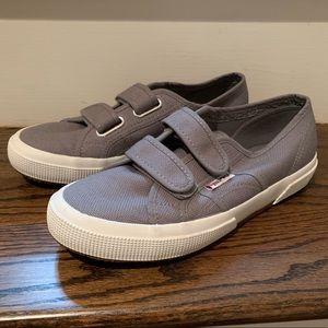 Superga women's velcro sneakers!